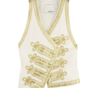 Phillip Lim vest gold